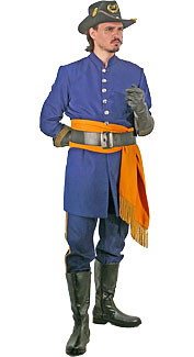 Civil War Union Junior Officer Costume
