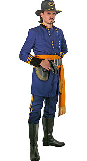 Civil War Union Officer Costume