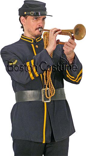 Cavalry Bugle At Boston Costume