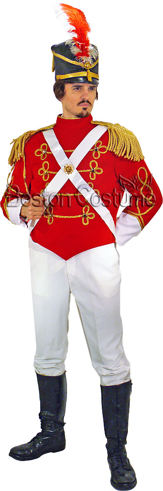 Red Coat Soldier Costume Galleryhipcom The Hippest