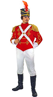 British King's Own Regiment Soldier Costume