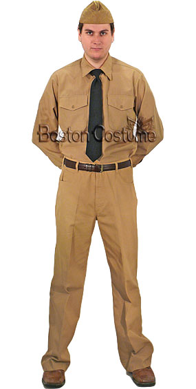 U.S. Navy Service Khaki Uniform