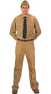 navy service khaki uniform a service khaki uniform for navy ...