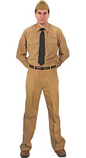 U.S. Navy Service Khaki Uniform