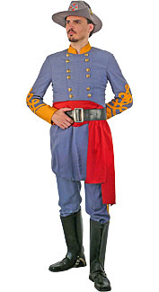 Confederate Cavalry Officer Uniform Rentals 35