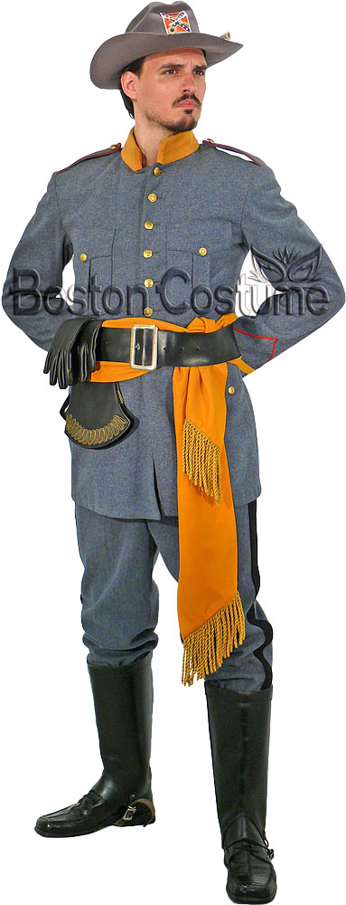 Confederate Cavalry Officer Uniform Rentals 94