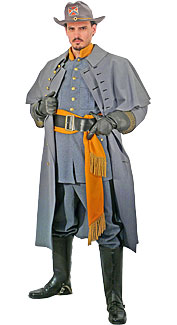 Confederate Cavalry Officer Uniform Rentals 17