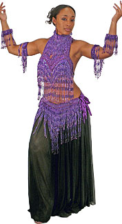 Deluxe Belly Dancer Costume