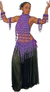 Deluxe Belly Dancer Costume
