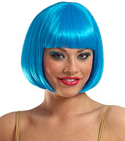 Sassy Wig in Turquoise