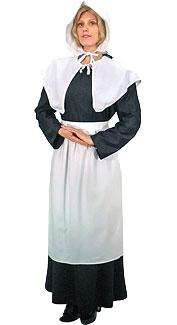 Pilgrim Woman Costume