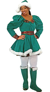 Christmas Pixie Costume