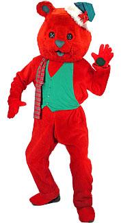 Holiday Bear Costume