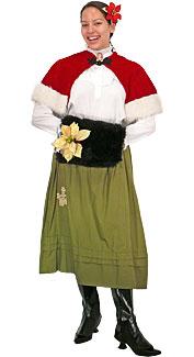 Victorian Caroler Costume