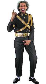 Michael Jackson Dangerous Tour Costume