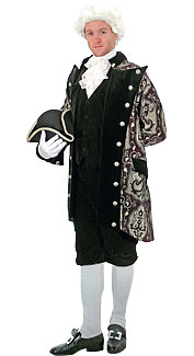 1776 Costume Rental Wig 36