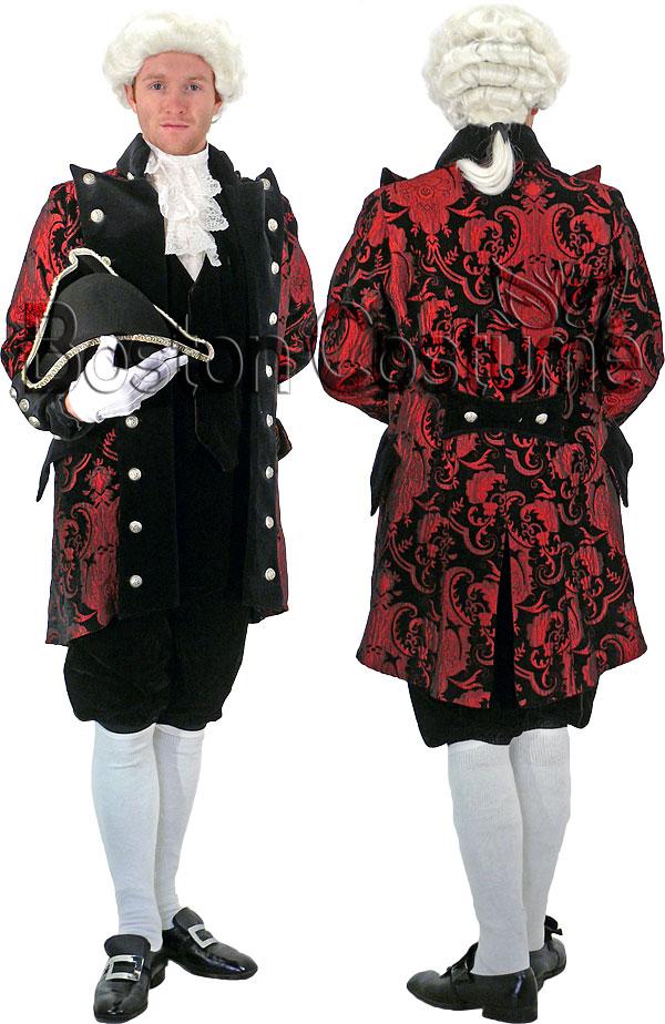 18th Century Colonial Man Costume At Boston Costume