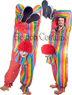 Upside-Down Clown Costume