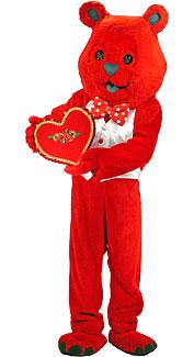 Valentine's Day Bear Costume