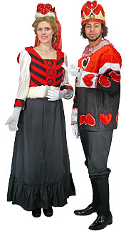 King & Queen of Hearts Costumes