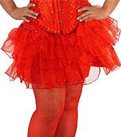 Red Fantasy Skirt