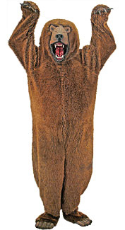 Deluxe Grizzly Bear Costume