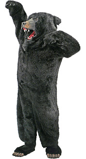 Deluxe Black Bear Costume