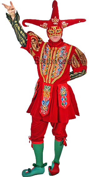 Deluxe Jester Costume
