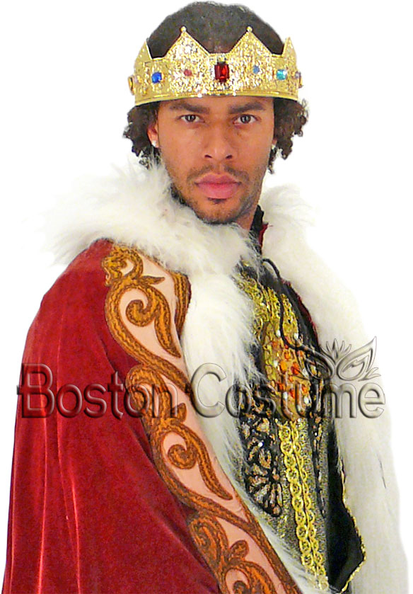 kings crown at boston costume