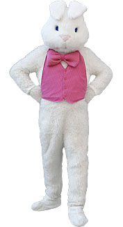 Deluxe White Bunny Rabbit Costume