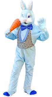 Deluxe Blue Bunny Rabbit Costume