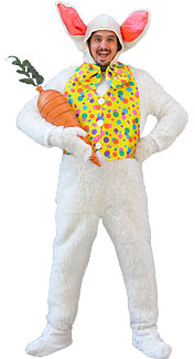 Open-Faced Bunny Rabbit Costume