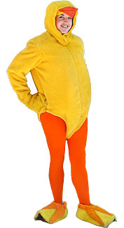Open-Faced Chick Costume