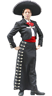 Mariachi Woman Costume