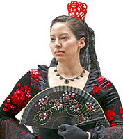 Spanish Painted Fan