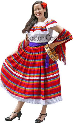 Peasant Folklorico Costume