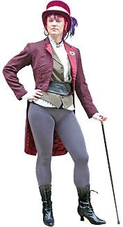 Victorian Equestrienne Costume