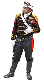 Steampunk Captain Costume