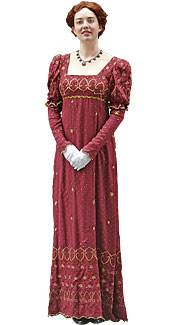 Victorain/Edwardian Woman Costume