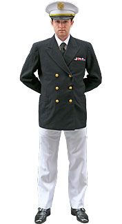 World War II U.S. Navy Officer Costume