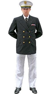 World War II U.S. Navy Officer Costume