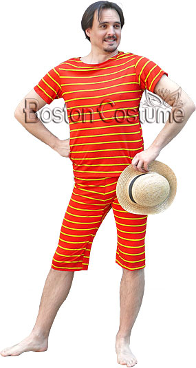 Old-Fashioned Bathing Suit Costume
