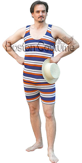 Old-Fashioned Bathing Suit