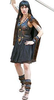 Barbarian Woman Costume