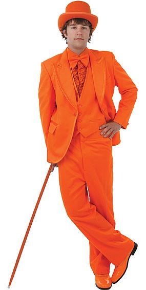 Deluxe Tangerine Tuxedo Costume