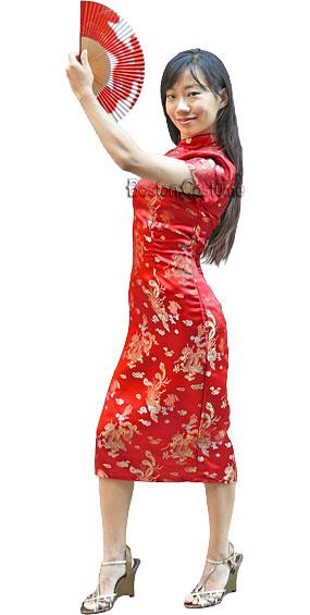 Chinese Woman Costume