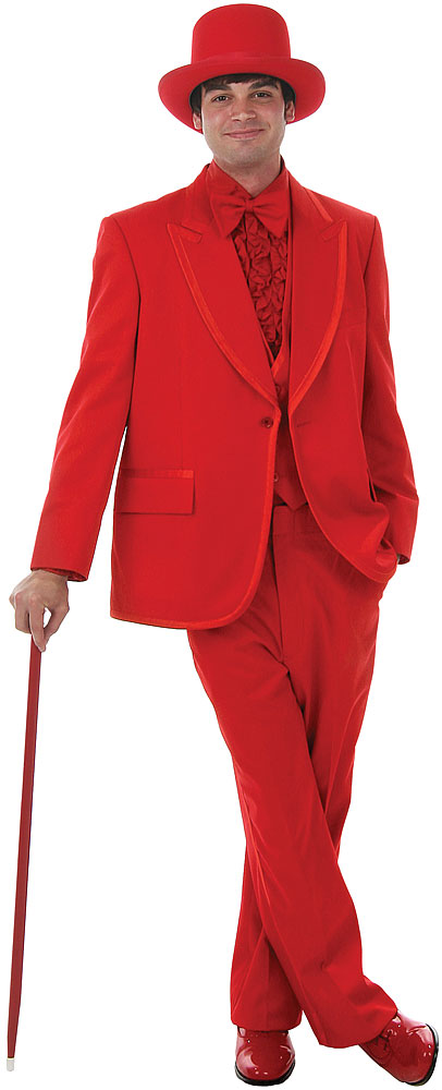 Deluxe Red Tuxedo Costume at Boston Costume