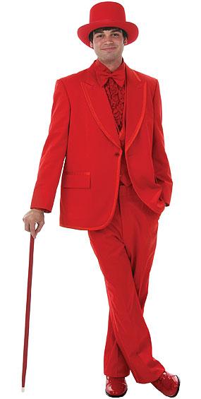 Deluxe Red Tuxedo