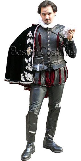 Medieval Elizabethan Man Costume At Boston Costume