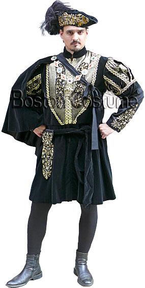Deluxe Medieval/Renaissance Man Costume